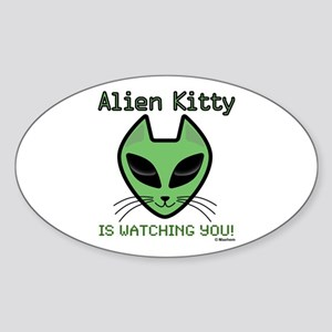 2-AlienKitty-IsWatching Sticker
