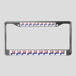 DEAD DONKEY License Plate Frame