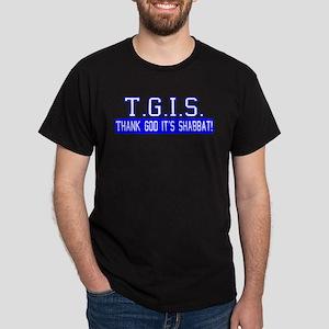 Thank God It's Shabbat! Dark T-Shirt