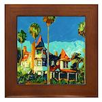 Victorian California Framed Tile