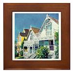Sunny San Diego Framed Tile