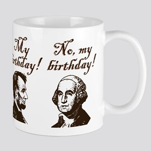 Presidents' Birthday Mug