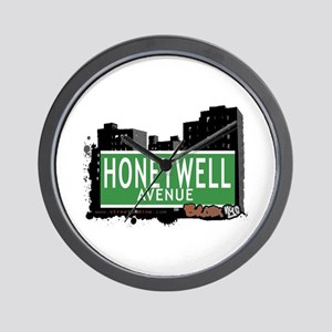 Honeywell Av, Bronx, NYC Wall Clock