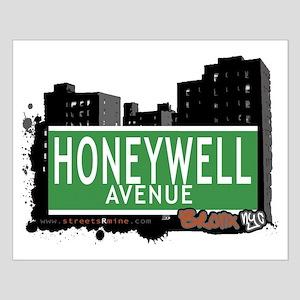 Honeywell Av, Bronx, NYC Small Poster