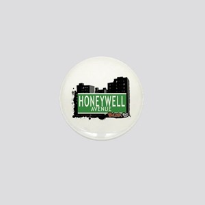 Honeywell Av, Bronx, NYC Mini Button