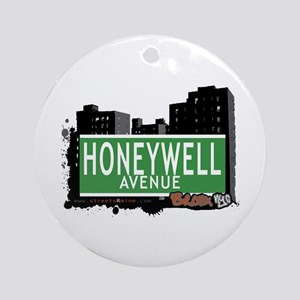 Honeywell Av, Bronx, NYC Ornament (Round)