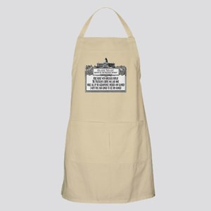 The Politician's Funeral Apron