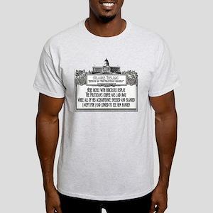The Politician's Funeral Light T-Shirt