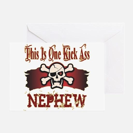 Kickass Nephew Greeting Card