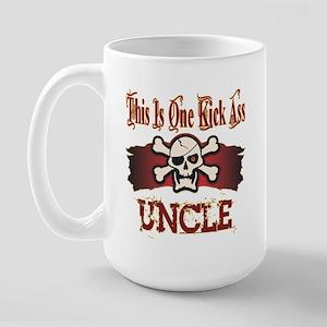 Kickass Uncles Large Mug