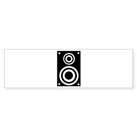 Speaker Sticker (Bumper 50 pk)