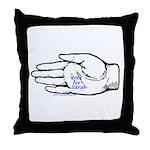 Vote for Sarah Throw Pillow