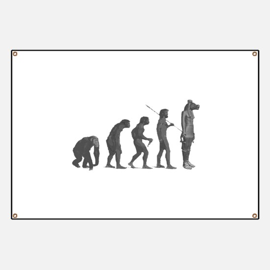 Evolution - Lost statue Banner