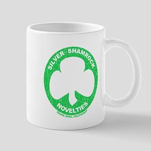 Silver Shamrock Faded Mug