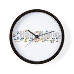 Ham Radio Q Signals Wall Clock