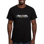 Ham Radio Q Signals Men's Fitted T-Shirt (dark)