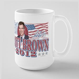 Seal The Deal Brown 2012 Large Mug