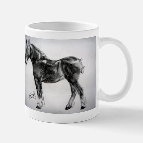 Cute Suffolk punch Mug