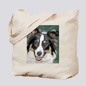 collie pup Tote Bag
