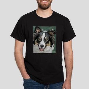 collie pup Dark T-Shirt