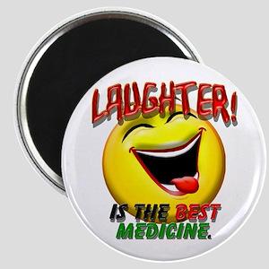 Laughter is the Best Medicine Magnet