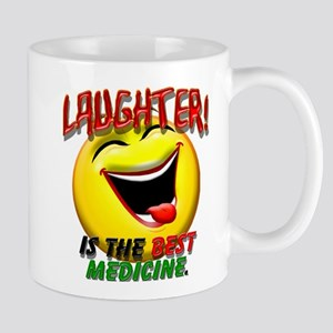 Laughter is the Best Medicine Mug
