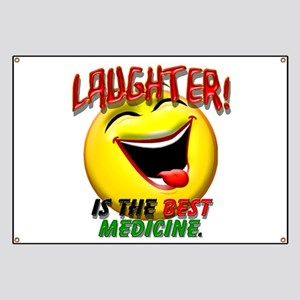 Laughter is the Best Medicine Banner