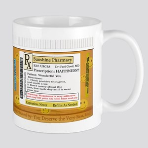 Dr. Feel Good's Happy Pills Mugs
