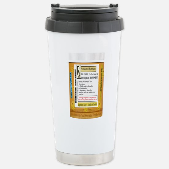 Dr. Feel Good's Happy Pills Travel Mug