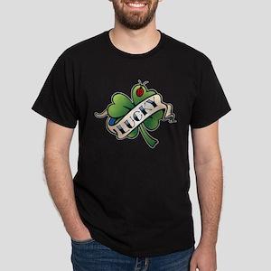 Lucky Tattoo Dark T-Shirt