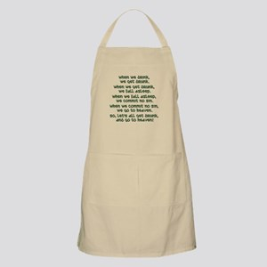 Irish Toast Apron
