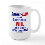Take Back America Large Mug