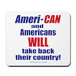 Take Back America Mousepad