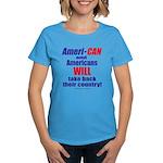 Take Back America Women's Dark T-Shirt