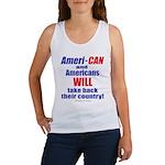Take Back America Women's Tank Top
