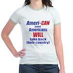 Take Back America Jr. Ringer T-Shirt