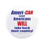 "Take Back America 3.5"" Button"