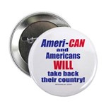 """Take Back America 2.25"""" Button (100 pack)"""