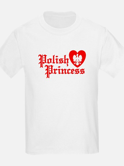 Polish Princess Kids T-Shirt