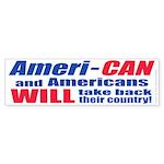 Take Back America (Bumper Sticker 50 pk)