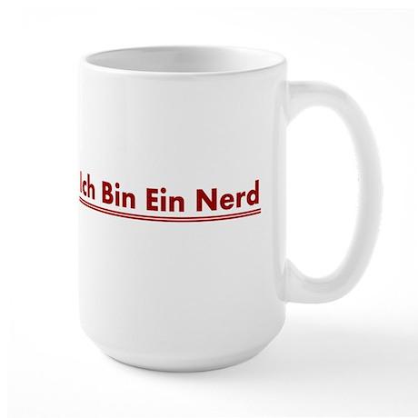 Ich Bin Ein Nerd Large Mug