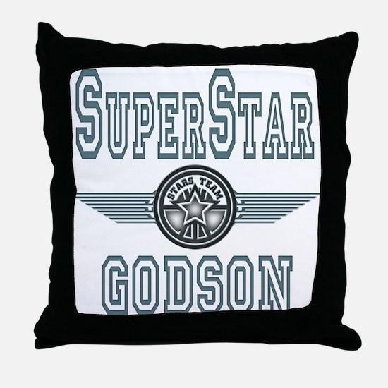 Superstar Godson Throw Pillow