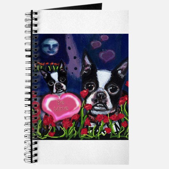 BOSTON TERRIER Valentine Journal