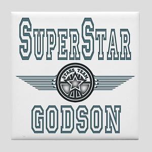 Superstar Godson Tile Coaster