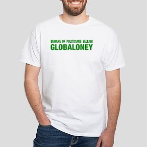 GLOBALONEY White T-Shirt