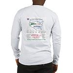 2-OneLapShirtFront Long Sleeve T-Shirt