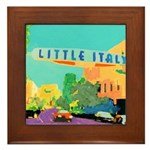 Little Italy Framed Tile