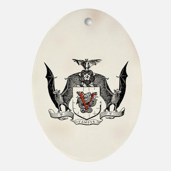 Vampyr Crest Ornament (Oval)