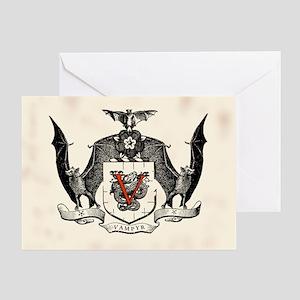 Vampyr Crest Greeting Card