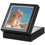 Hospitality Tower Inlaid Tile Box